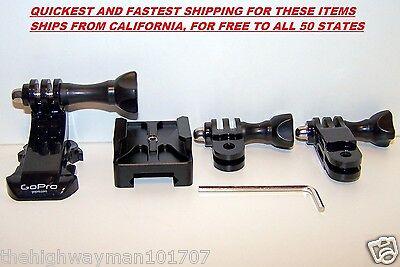 CNC Aluminum 20mm Picatinny Side Mini Rail Gun Mount GoPro HD HERO 2 3 3+ 4 New