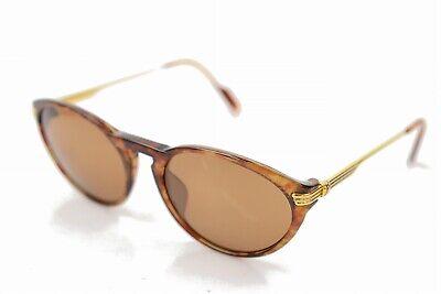 Cartier lunettes de soleil trinity Écaille de tortue marron x or 836243