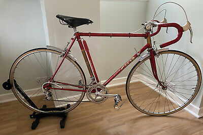 The Flying Scot Road Bike Olympic Ring Eroica Vintage Original Campagnolo Brooks