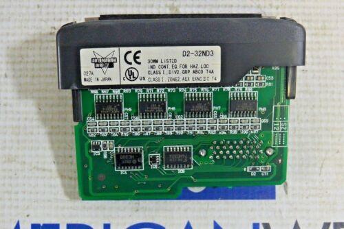 AUTOMATION DIRECT D2-32ND3 INPUT MODULE 32PT 24 VDC  D2-32ND3