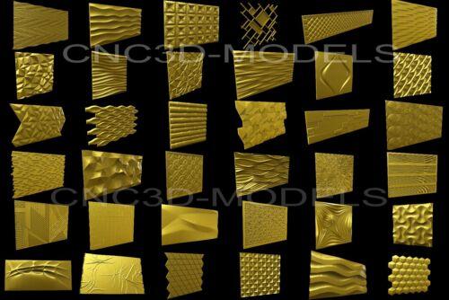 3D MODEL STL for CNC Router Engraver Carving Artcam Aspire Collection 8502
