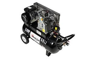 Air Compressor- Single Phase Piston Petrol  3HP 55L 10AMP- Tested Wangara Wanneroo Area Preview