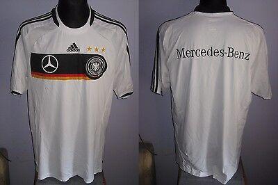 2008-09 Germany Home Shirt Adidas (XL) Jersey Trikot Camiseta Maglia Maillot image