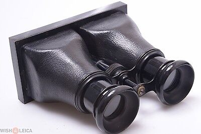 RARE & NICE*  METAL 6.5x13.5CM ANTIQUE 3D STEREO VIEWER, STEREOSCOPE