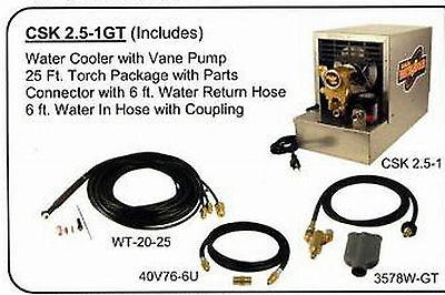 Weldtec Light Duty Tig Cooler Kit For Lincoln C25-1csk2.5-1gt