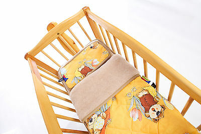 Baby Bed, Baby Bed, Upper Bed, Under Bed,pillow, 3 Piece Camel Or Cashmere Wool