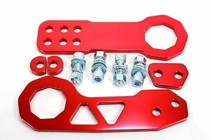 FRONT-REAR-Tow-Hook-S2000-Civic-Accord-RSX-Prelude-Integra-CL-TL-Honda-Acura-Red