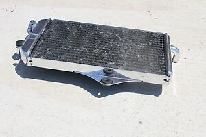 MIRROR-POLISHED-Yamaha-Banshee-radiator-1987-2006-chrome-like-finish