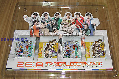 ZE:A K-POP STAR COLLECTION CARD SET NEW