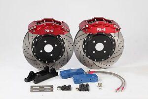 BMW-3-Series-E30-E36-E46-E90-E91-E92-M3-Front-330mm-6-Pot-PB-Brakes-Brake-Kit