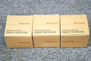 HONEYWELL-SENSING-CONTROL-CIRCUIT-PROTECTOR-GCP-33A-10A-AX-I-LOT-OF-3-NEW