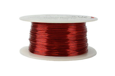 Temco Magnet Wire 24 Awg Gauge Enameled Copper 8oz 155c 395ft Coil Winding