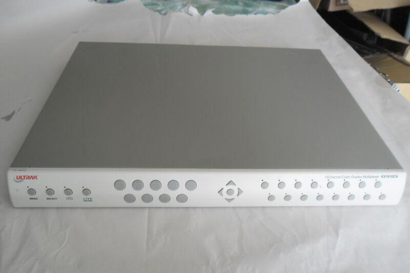 Ultrak 16 Channel Color Duplex  Multiplexer KX1610CN