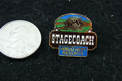 Stagecoach Naco West Resorts Pin
