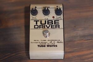 Vintage Tube Works Overdrive Pedal (USA Made)