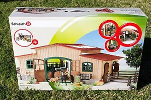 SCHLEICH 42103 Horse Stable with Accessories BRAND NEW Manly West Brisbane South East Preview