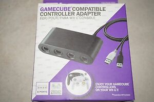GameCube controller adapter for Wiiu Collingwood Park Ipswich City Preview