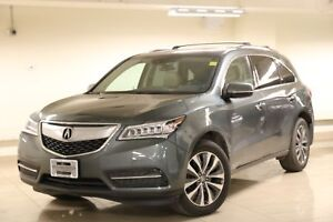 2015 Acura MDX Technology Package Rear Entertainment/Heated S...