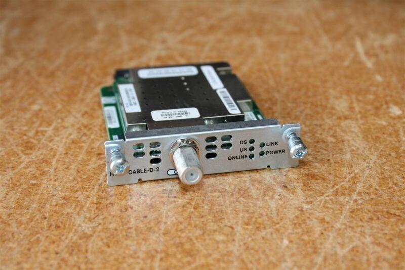 Cisco HWIC-CABLE-D-2 card