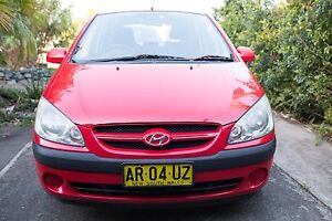 2006 Hyundai Getz Hatchback Sandy Beach Coffs Harbour Area Preview