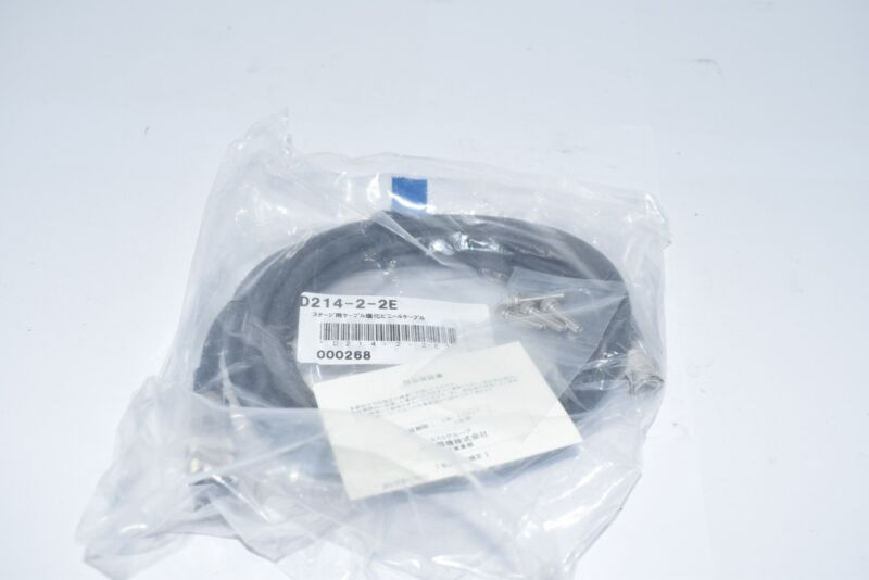 NEW Suruga Seiki D214-2-2E Stage Stepper Motor Controller Connection Cable