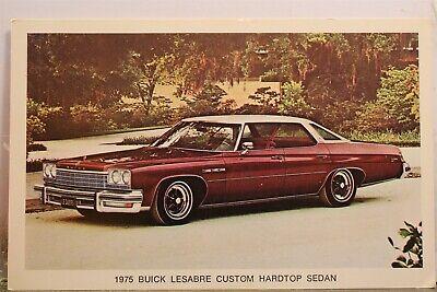 Ad 1975 Buick Lesabre Custom Hardtop Sedan Postcard Old Vintage Card View Postal
