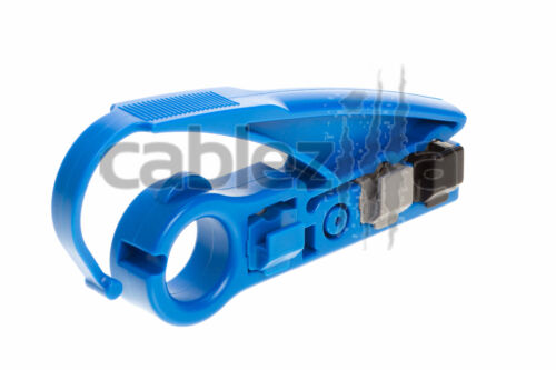 Coaxial Cable Stripper Jacket Tool RG6 RG59 Cutter UTP Cat5e Cat6 Cat7 Strip