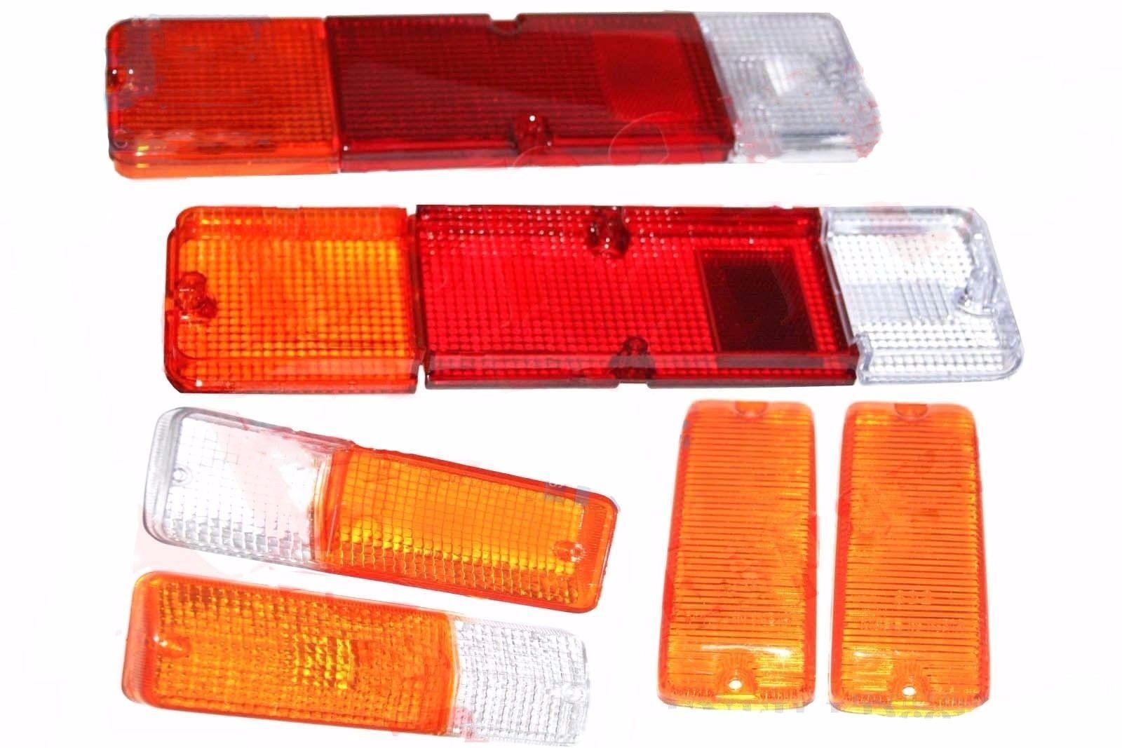 Suzuki SJ410 413 Front Bumper & Side Indicator Taillight Lens Samurai Sierra CAD