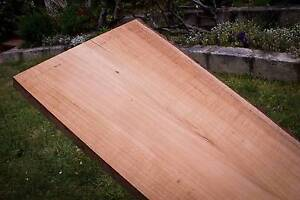 Silky oak wide timber slab, 226cm x 40-56cm x 39mm. Ref #13 Mount Lawley Stirling Area Preview