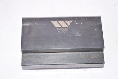 Wilson Tool Amada 50193x 4.00 Press Brake V-punch Block Die Machinist Tooling