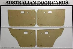 Mazda RX3 808 COUPE Door Cards / Trim Panels. Front Doors & Rear Wangaratta Wangaratta Area Preview