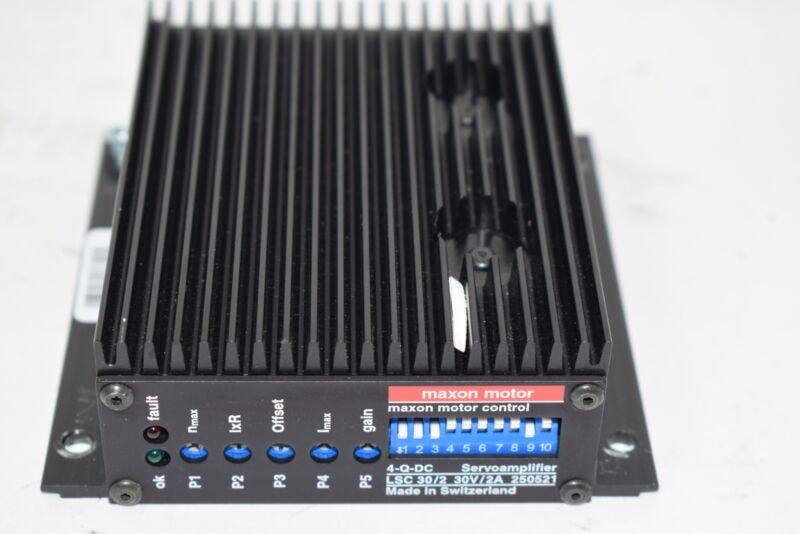 Maxon Servoamplifier Motor Control 4-Q-DC 250521 Servo Amplifier