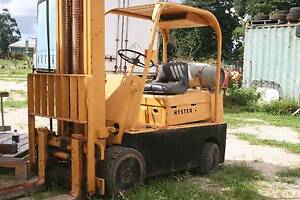 forklift hyster 2.5 ton LPG  solid tyres suit cement asphalt use Babinda Cairns Surrounds Preview