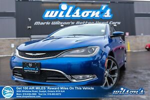 2015 Chrysler 200 C | LEATHER | NAVIGATION | SUNROOF | BLUETOOTH