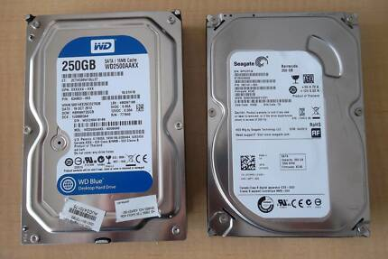 250GB SATA HARD DRIVE
