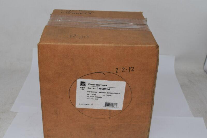 NEW Eaton C1500K2A 1500 VA Type MTK Control Transformer 230x460