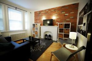 A MUST SEE! Large Renovated Apt. on Hutchison in McGill Ghetto!