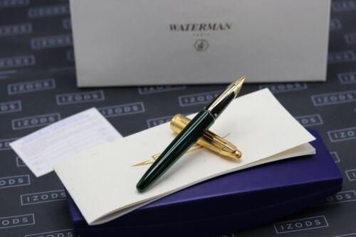 Waterman Edson Emerald Green Fountain Pen