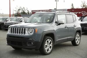 2017 Jeep Renegade Limited - ALLOY WHEELS, PUSH START, LEATHER!