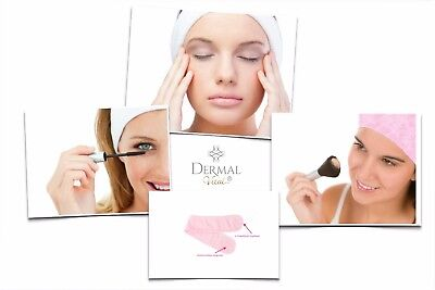 Wellness-Haarband Kosmetikband Stirnband Schminkhilfe extra weich, Dermal Vital