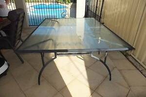 Outdoor dining table - 6 seater excellent condition Alexander Heights Wanneroo Area Preview