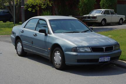 1996 Mitsubishi Magna Sedan, dual fuel - suitable for parts Willetton Canning Area Preview