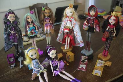 Ever After High Dolls - 2 remaining Wynnum Brisbane South East Preview