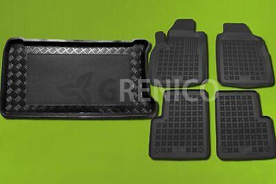 Gummi-Fußmatten+Kofferraumwanne FIAT 500L 500L Trekking 2012-heute