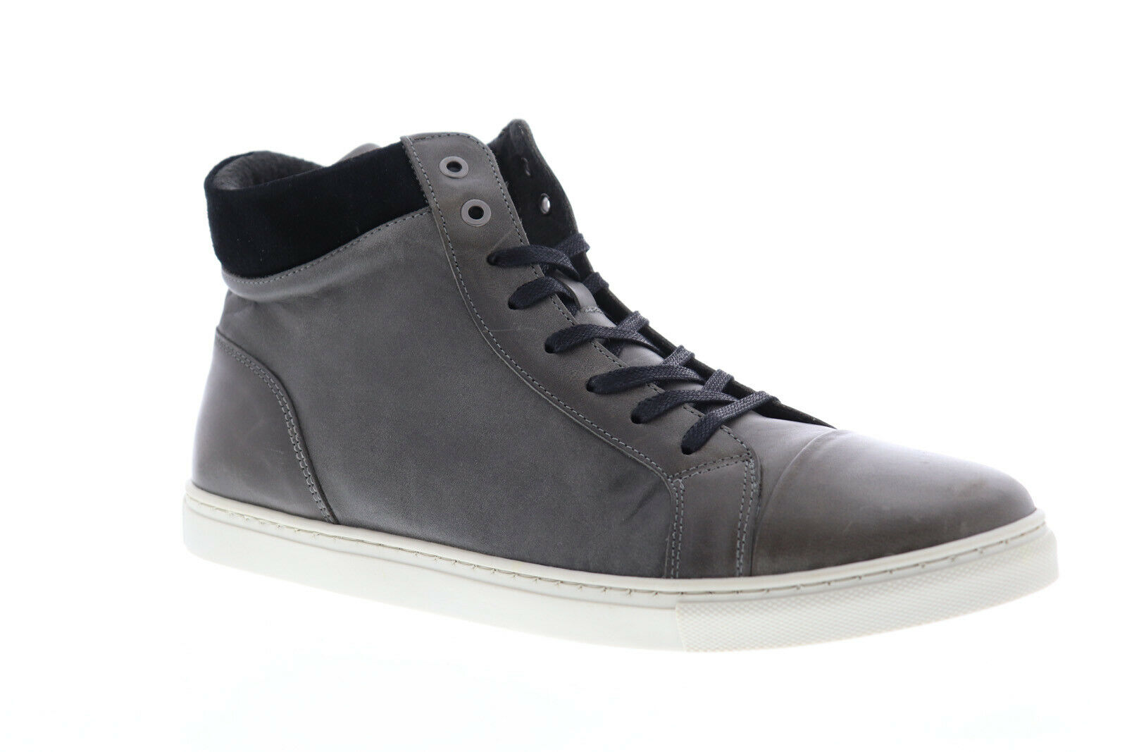 Robert Wayne Tf Damond RWF1311M Mens Gray Casual Lace Up Fashion Sneakers Shoes