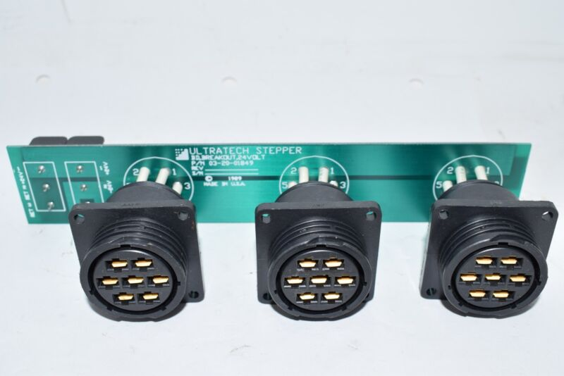 Ultratech Stepper 03-20-01849 BD, Breakout, 24 VOLT PCB