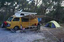Mazda E2000 pop top van with 5 seats and 3 sleeps Docklands Melbourne City Preview