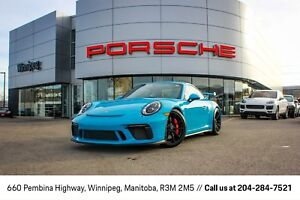 2018 Porsche 911 GT3 Certified Pre-Owned Warranty With Unlimited