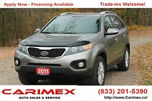 2011 Kia Sorento EX AWD | Bluetooth | Heated Seats | CERTIFIED