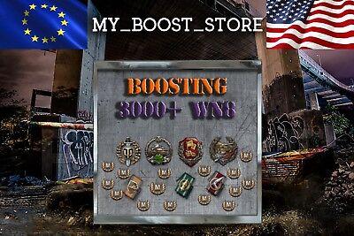 World Of Tanks  Wot    3000  Wn8 Boost 25 Battles   24 H    Not Bonus Code